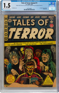 Tales of Terror Annual #1 (EC, 1951) CGC FR/GD 1.5 Light tan to off-white pages