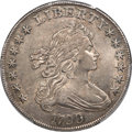 Early Dollars, 1799 $1 7x6 Stars, B-16, BB-158, R.2, AU53 PCGS....