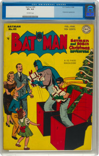 Batman #45 (DC, 1948) CGC VF+ 8.5 Off-white pages