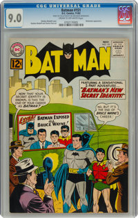 Batman #151 (DC, 1962) CGC VF/NM 9.0 Cream to off-white pages