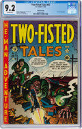 Golden Age (1938-1955):War, Two-Fisted Tales #25 Gaines File Pedigree (EC, 1952) CGC NM- 9.2 Off-white pages....