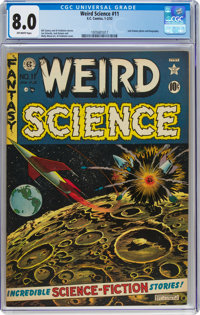 Weird Science #11 (EC, 1952) CGC VF 8.0 Off-white pages