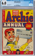 Golden Age (1938-1955):Humor, Archie Annual #1 (Archie, 1950) CGC FN 6.0 Off-white to white pages....