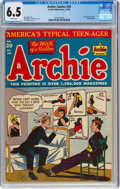 Golden Age (1938-1955):Humor, Archie Comics #20 (Archie, 1946) CGC FN+ 6.5 White pages....