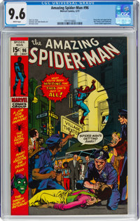 The Amazing Spider-Man #96 (Marvel, 1971) CGC NM+ 9.6 White pages