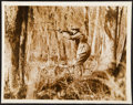 Baseball Collectibles:Photos, 1920 Ty Cobb Hunting Photograph from The Ty Cobb Collection, PSA/DNA Type I....