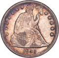 1850-O $1 AU50 NGC. OC-1, R.2. The 1850-O is popular as a branch mint No Motto issue, and it is much scarcer in high gr...