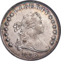 Early Dollars, 1798 $1 Large Eagle, Pointed 9, B-24, BB-124, R.2, AU50 NGC. Bowers Die State V, shattered obverse at star 12. A true About...