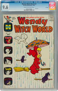 Wendy Witch World #3 File Copy (Harvey, 1962) CGC NM+ 9.6 Cream to off-white pages