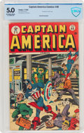 Golden Age (1938-1955):Superhero, Captain America Comics #48 (Timely, 1945) CBCS VG/FN 5.0 Off-white to white pages....