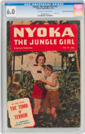Golden Age (1938-1955):Adventure, Nyoka the Jungle Girl #74 Mile High Pedigree (Fawcett Publications, 1952) CGC FN 6.0 Off-white to white pages....