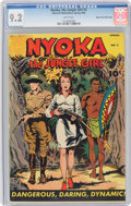 Golden Age (1938-1955):Adventure, Nyoka the Jungle Girl #3 Mile High Pedigree (Fawcett Publications, 1946) CGC NM- 9.2 White pages....