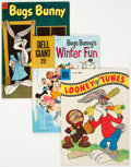 Golden Age (1938-1955):Cartoon Character, Bugs Bunny-Related Comics Group of 43 (Dell, 1952-61) Condition: Average VG+.... (Total: 43 )