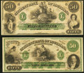 Obsoletes By State:Louisiana, New Orleans, LA- Citizens' Bank of Louisiana $50 18__ Remainder Crisp Uncirculated;. Shreveport, LA- Citizens' Bank of... (Total: 2 notes)