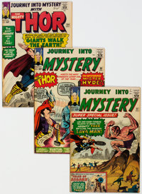Journey Into Mystery/Thor Group of 23 (Marvel, 1963-67) Condition: Average FN.... (Total: 23 Comic Books)