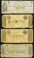 Obsoletes By State:Virginia, Charlestown, VA- Corporation of Charlestown 10¢ Jan. 1, 1862; 25¢ May 23, 1861 (2); Oct. 11, 1861 Good or Better.. ... (Total: 4 notes)