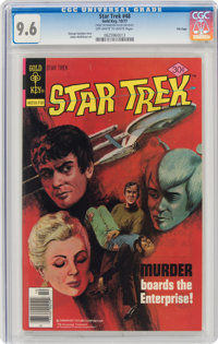 Star Trek #48 File Copy (Gold Key, 1977) CGC NM+ 9.6 Off-white to white pages