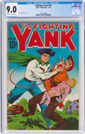 Golden Age (1938-1955):Superhero, Fighting Yank #18 (Nedor Publications, 1946) CGC VF/NM 9.0 Off-white to white pages....