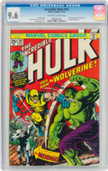 Bronze Age (1970-1979):Superhero, The Incredible Hulk #181 (Marvel, 1974) CGC NM+ 9.6 Off-white to white pages....