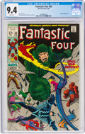 Silver Age (1956-1969):Superhero, Fantastic Four #83 (Marvel, 1969) CGC NM 9.4 White pages....