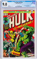 Bronze Age (1970-1979):Superhero, The Incredible Hulk #181 (Marvel, 1974) CGC VF/NM 9.0 Off-white to white pages....