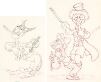Mother Goose Goes Hollywood Marx Brothers Animation Drawings Group of 2 (Walt Disney, 1938). ... (Total: 2 Original Art)