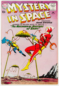Mystery in Space #65 (DC, 1961) Condition: VF-