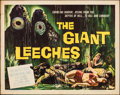 """Movie Posters:Horror, Attack of the Giant Leeches (American International, 1959). Folded, Fine/Very Fine. Half Sheet (22"""" X 28"""") Alternate Title: ..."""