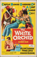 """Movie Posters:Adventure, The White Orchid (United Artists, 1954). Folded, Fine/Very Fine. One Sheet (27"""" X 41""""). Adventure.. ..."""