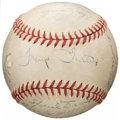 Autographs:Baseballs, 1944 Pittsburgh Pirates Team Signed Baseball. ...