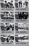 """Movie Posters:Rock and Roll, A Hard Day's Night (Universal, R-1982). Very Fine/Near Mint. Lobby Card Set of 8 (11"""" X 14""""). Rock and Roll.. ... (Total: 8 Items)"""
