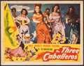 "Movie Posters:Animation, The Three Caballeros (RKO, 1945). Fine+. Lobby Card (11"" X 14""). Animation.. ..."