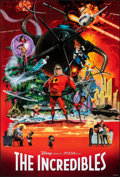 """Movie Posters:Animation, The Incredibles (Buena Vista, 2004). Rolled, Very Fine+. One Sheet (27"""" X 40"""") SS, Robert McGinnis Artwork. Animation.. ..."""