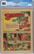 """Golden Age (1938-1955):Superhero, Action Comics #16 (DC, 1939) CGC """"No Grade"""" Off-white to white pages...."""