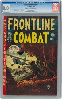 Frontline Combat #11 (EC, 1953) CGC VF 8.0 Cream to off-white pages