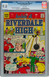Archie at Riverdale High #1 (Archie, 1972) CGC VF/NM 9.0 White pages