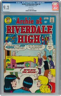 Archie at Riverdale High #8 (Archie, 1973) CGC NM- 9.2 White pages