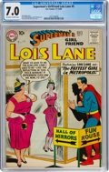 Silver Age (1956-1969):Superhero, Superman's Girlfriend Lois Lane #5 (DC, 1958) CGC FN/VF 7.0 Off-white to white pages....