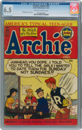 Golden Age (1938-1955):Humor, Archie Comics #51 (Archie, 1951) CGC FN+ 6.5 Off-white to ...