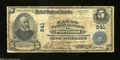 National Bank Notes:Maine, Portland, ME - $5 1902 Plain Back Fr. 598 The Canal NB ...