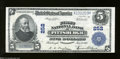 National Bank Notes:Pennsylvania, Pittsburgh, PA - $5 1902 Plain Back Fr. 606 The First NB