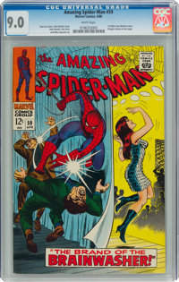 The Amazing Spider-Man #59 (Marvel, 1968) CGC VF/NM 9.0 White pages
