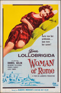 """Movie Posters:Foreign, Woman of Rome (Distributors Corporation of America Inc., 1955). Folded, Fine/Very Fine. One Sheet (27"""" X 41""""). Foreign.. ..."""