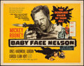 """Movie Posters:Crime, Baby Face Nelson (United Artists, 1957). Rolled, Fine/Very Fine. Half Sheet (22"""" X 28"""") Style A. Crime.. ..."""