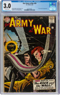 Silver Age (1956-1969):War, Our Army at War #83 (DC, 1959) CGC GD/VG 3.0 Off-white pages....