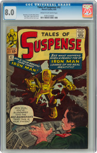 Tales of Suspense #42 (Marvel, 1963) CGC VF 8.0 Cream to off-white pages