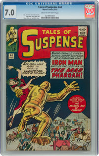 Tales of Suspense #44 (Marvel, 1963) CGC FN/VF 7.0 Cream to off-white pages