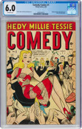 Golden Age (1938-1955):Humor, Comedy Comics #1 (Timely, 1948) CGC FN 6.0 Off-white pages...