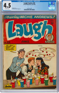 Golden Age (1938-1955):Humor, Laugh Comics #20 (Archie, 1946) CGC VG+ 4.5 Off-white page...