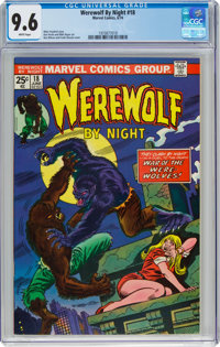 Werewolf by Night #18 (Marvel, 1974) CGC NM+ 9.6 White pages